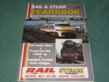 RAIL & STEAM YEARBOOK - A MONTH BY MONTH REVIEW OF THE TRANSPORT SCENE(1985)